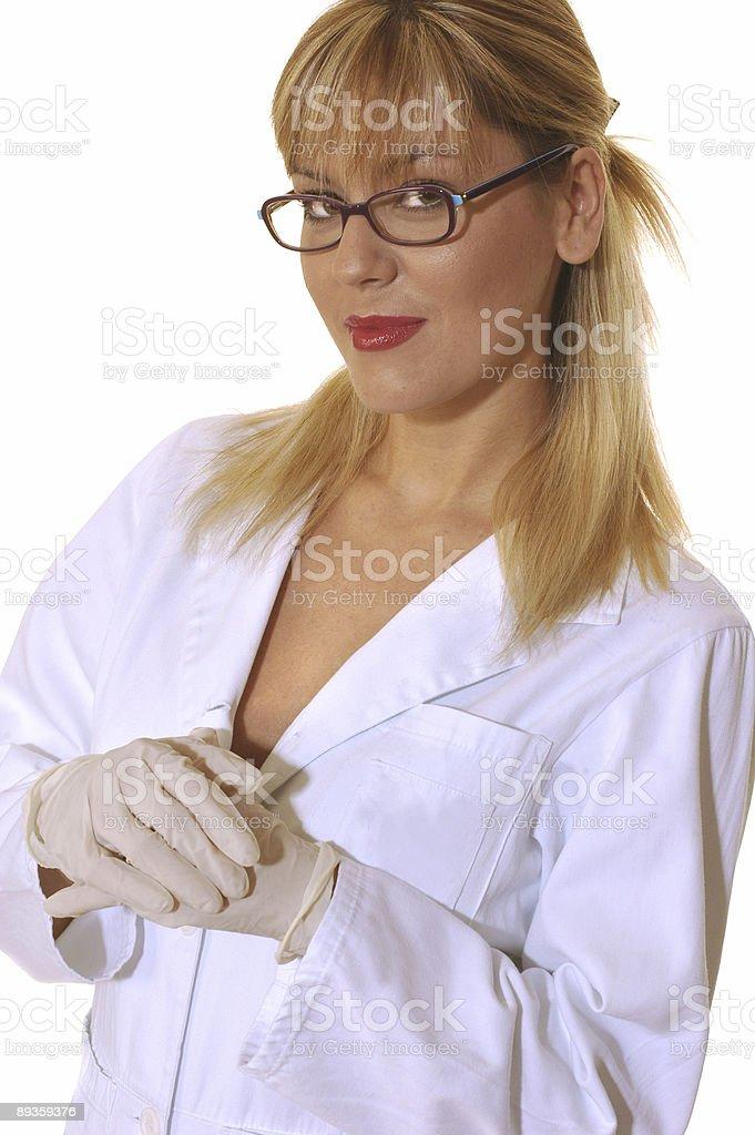 美しい医療スタッフ ロイヤリティフリーストックフォト