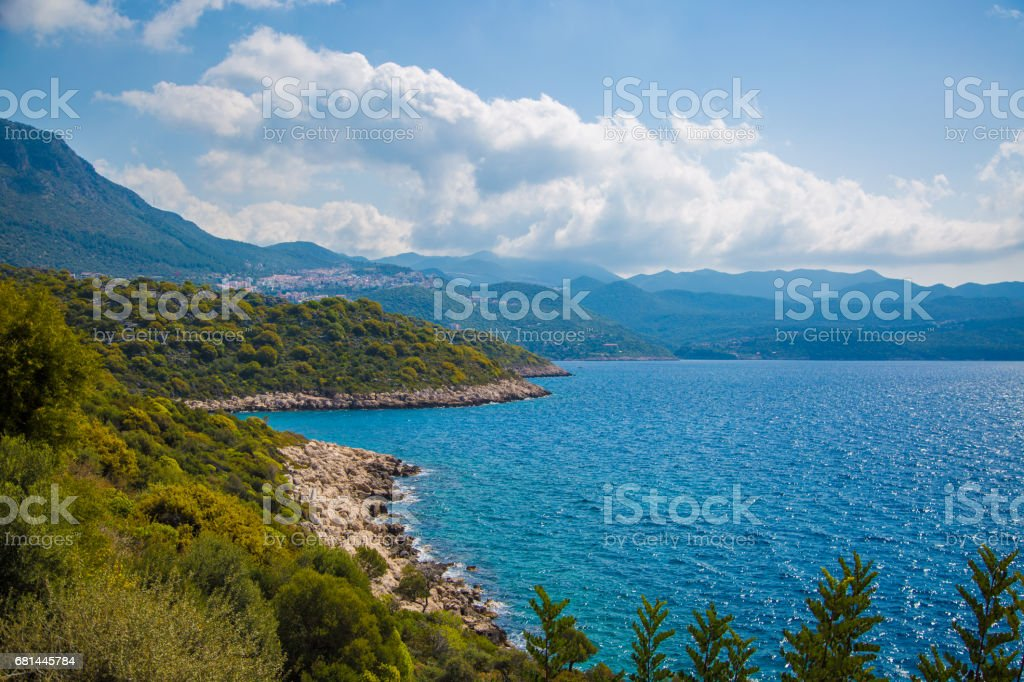 Beautiful  Mediterranean View royalty-free stock photo
