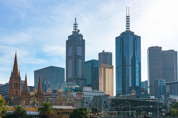 Belle vue de paysage urbain de Melbourne - Photo