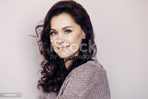 istock Beautiful mid adult woman 1058909272