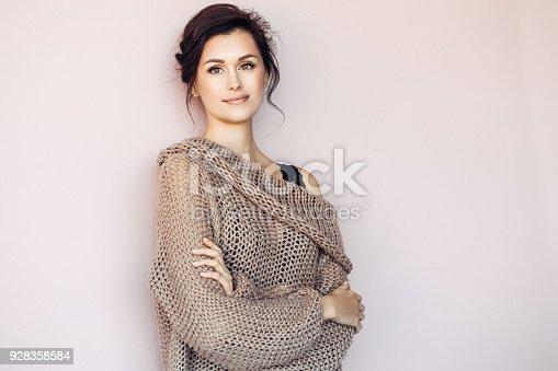 istock Beautiful mid adult woman 928358584