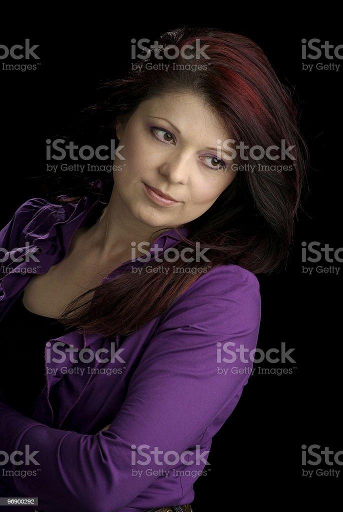Beautiful Mid Adult Woman royalty-free stock photo