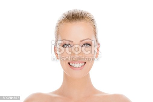 673361134 istock photo Beautiful mid adult woman smiling 520294577