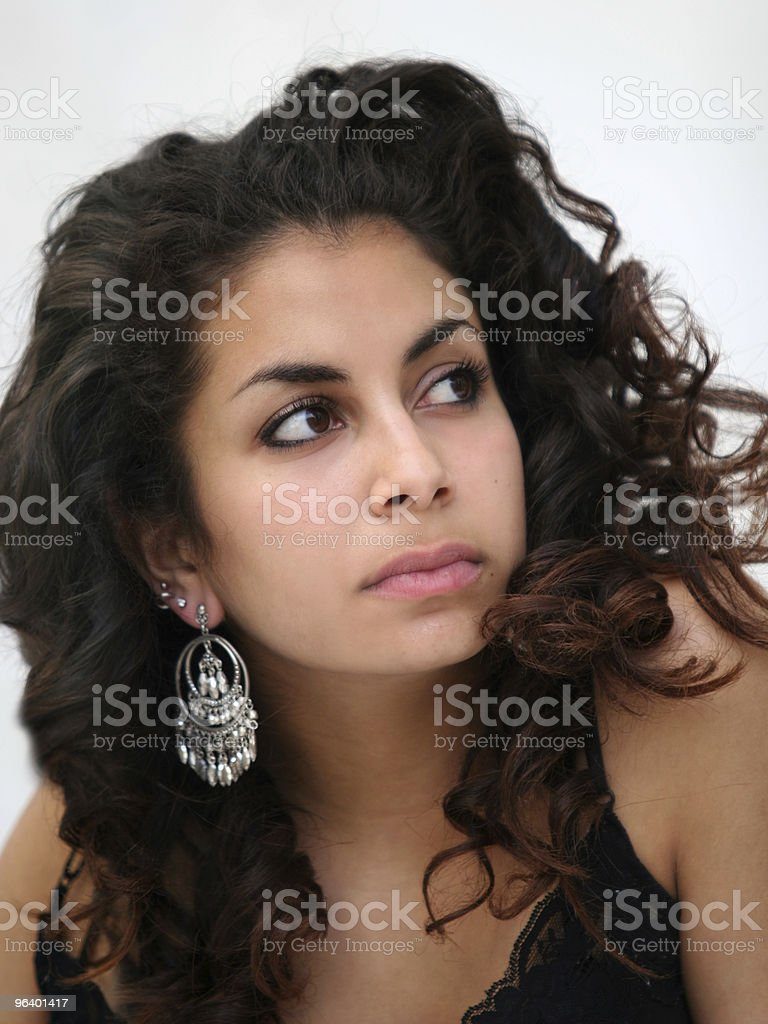 Beautiful middle eastern girl - Royalty-free Arabic Style Stock Photo