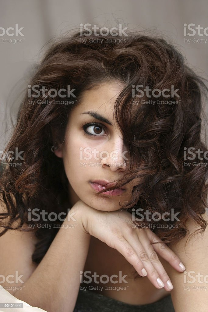 Beautiful middle eastern girl - Royalty-free Adult Stock Photo