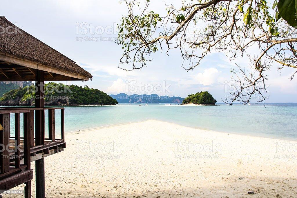 beautiful miracle beach stock photo