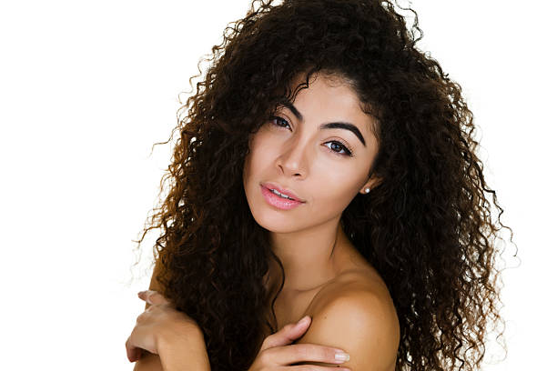 Best Curly Hair Naked Women Mixed Race Person Stock Photos, Pictures  Royalty-Free -4379