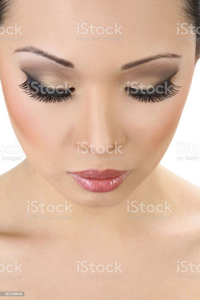 Beautiful Model Closeup royalty-free stock photo