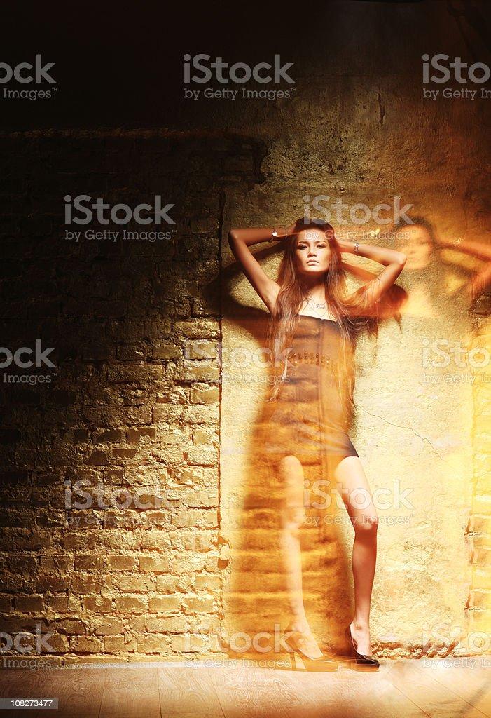 beautiful model royalty-free stock photo