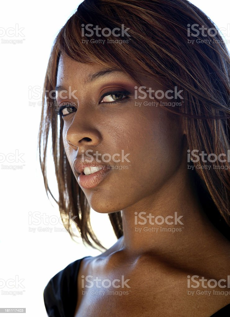 Beautiful model royalty-free stock photo
