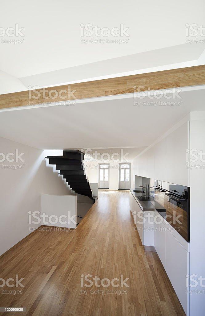 beautiful modern apartment royalty-free stock photo