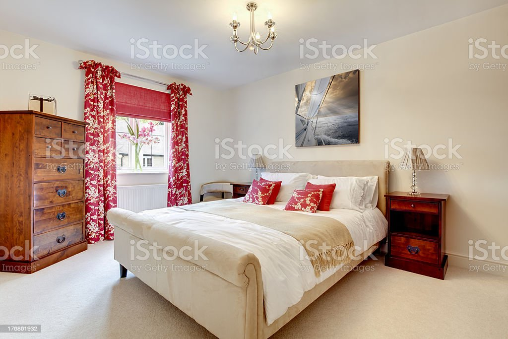 beautiful modern bedroom stock photo more pictures of 10218 | beautiful modern bedroom picture id176861932