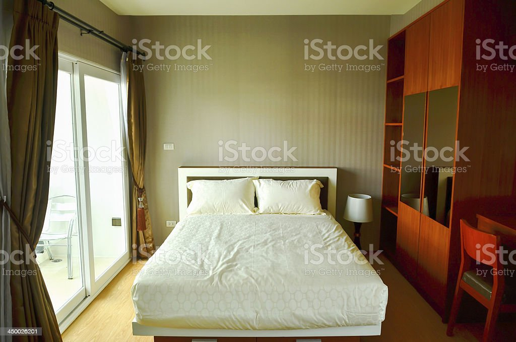 Beautiful Modern Home And Hotel Bedroom Interior Design Stock Photo Download Image Now Istock