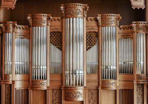 Beautiful modern organ