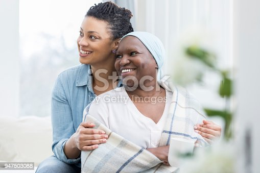 932074776istockphoto Beautiful mom and daughter 947503088