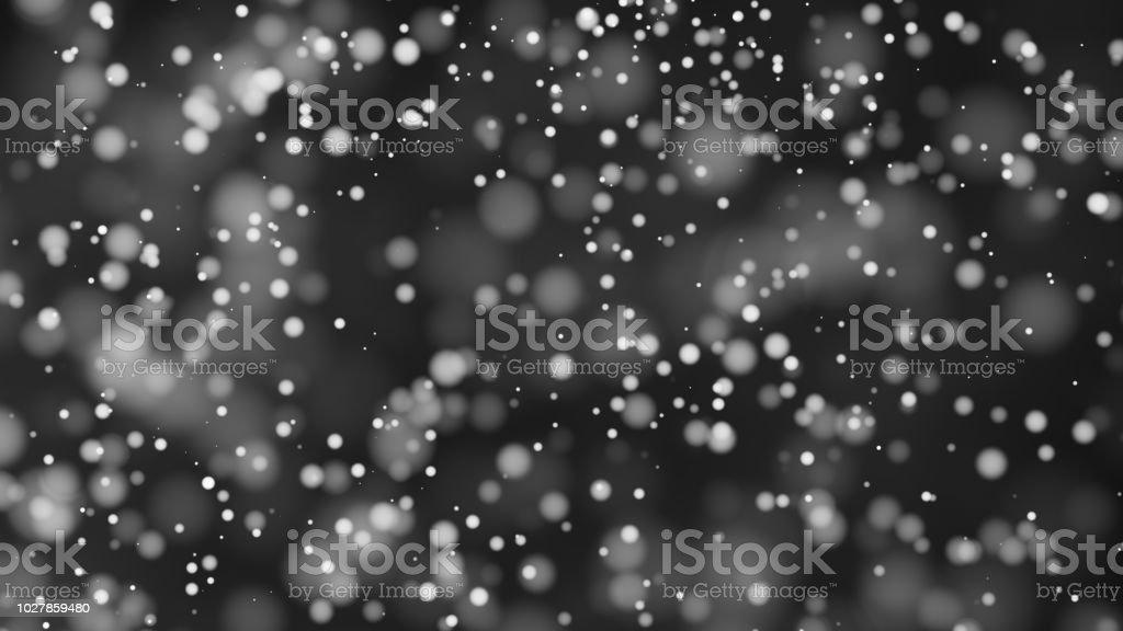 Schöne monochrome Bokeh unscharf Hintergrund unscharf gestellt Lichter – Foto