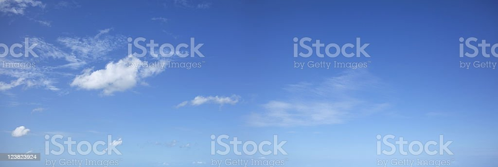 Beautiful morning sky stock photo