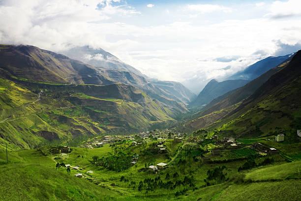 산 풍경 - 에콰도르 뉴스 사진 이미지