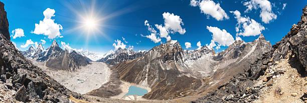Beautiful mountain landscape bildbanksfoto