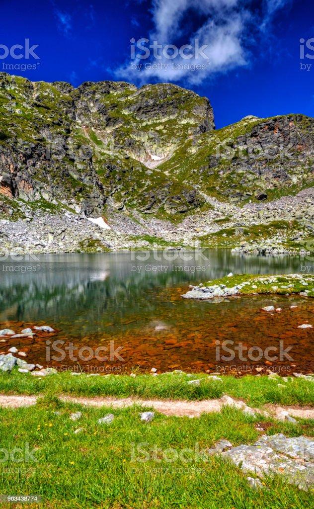 Piękny górski krajobraz - Zbiór zdjęć royalty-free (Bez ludzi)