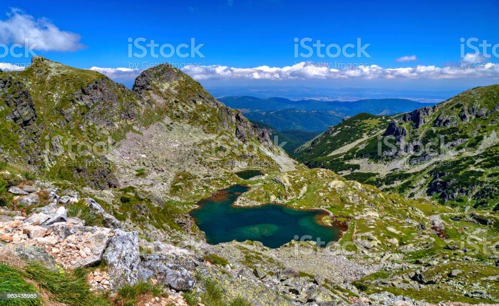 Magnifique paysage de montagne - Photo de Beauté libre de droits