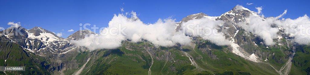 Beautiful mountain panorama royalty-free stock photo