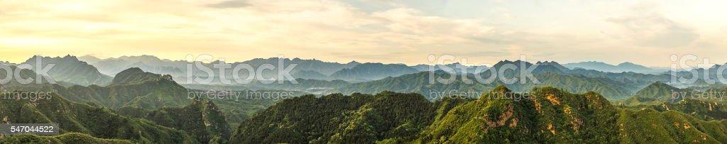 beautiful mountain stock photo