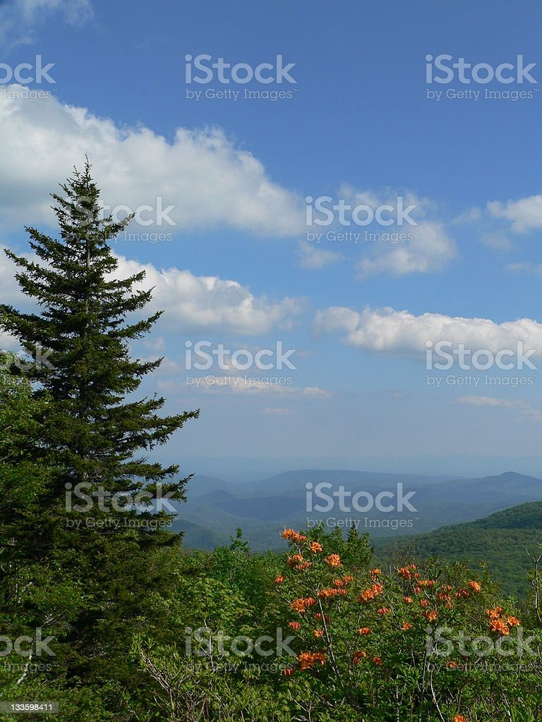 Beautiful Mountain View royalty-free stock photo