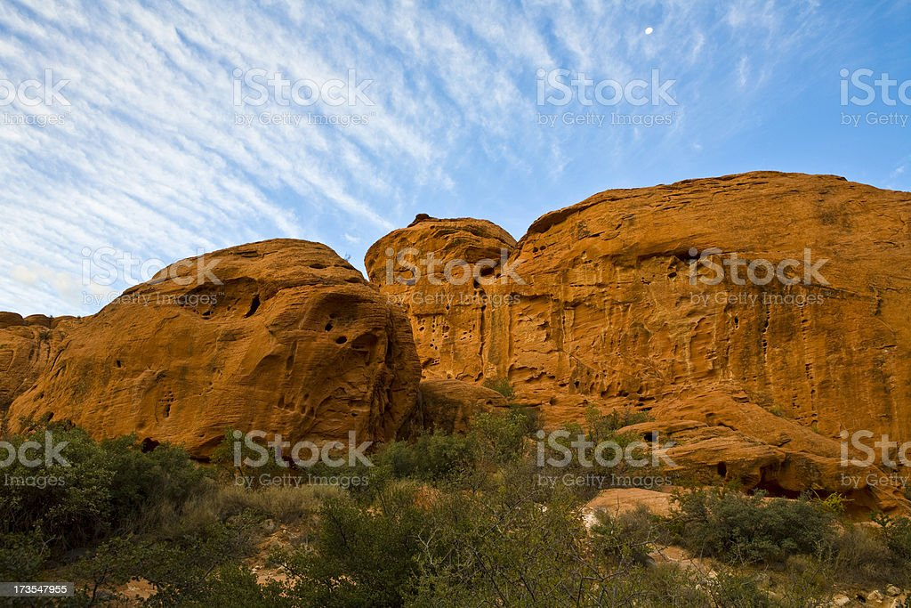 Beautiful mountains and sky royalty-free stock photo