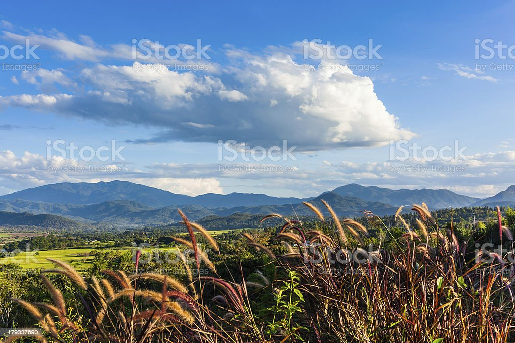 beautiful mountains landscape in thailand. royalty-free stock photo