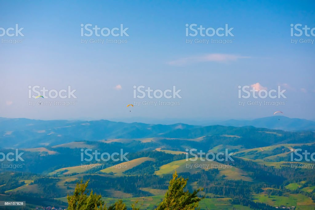 Beautiful mountains landscape. Ukrainian Carpathians, Europe. royalty-free stock photo