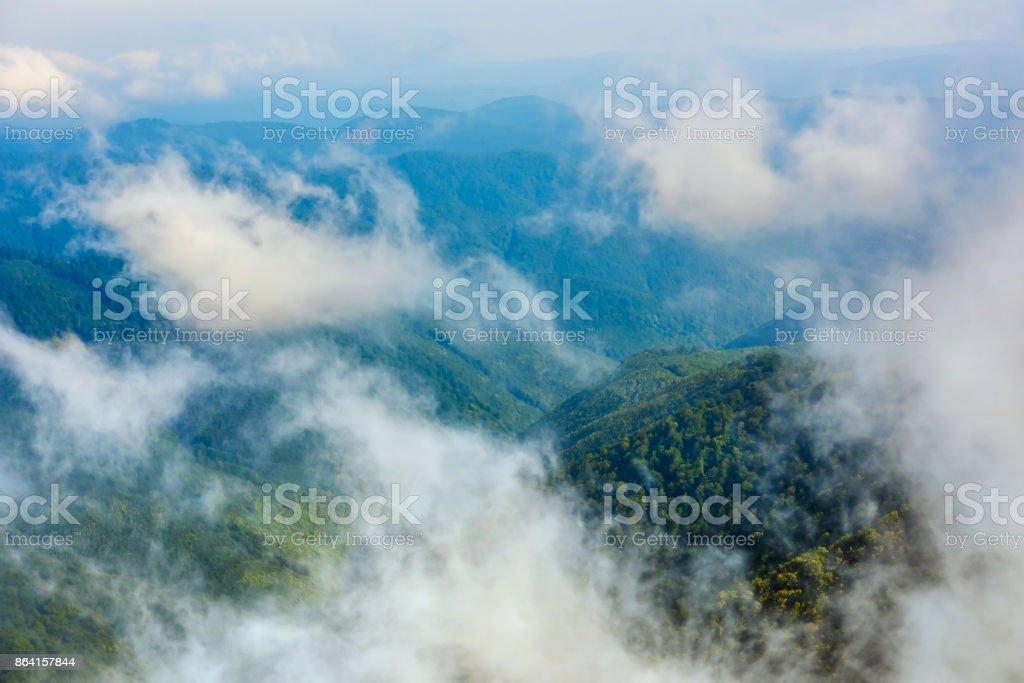 Beautiful mountains landscape. Ukrainian Carpathians, Europe. royalty-free stock photo