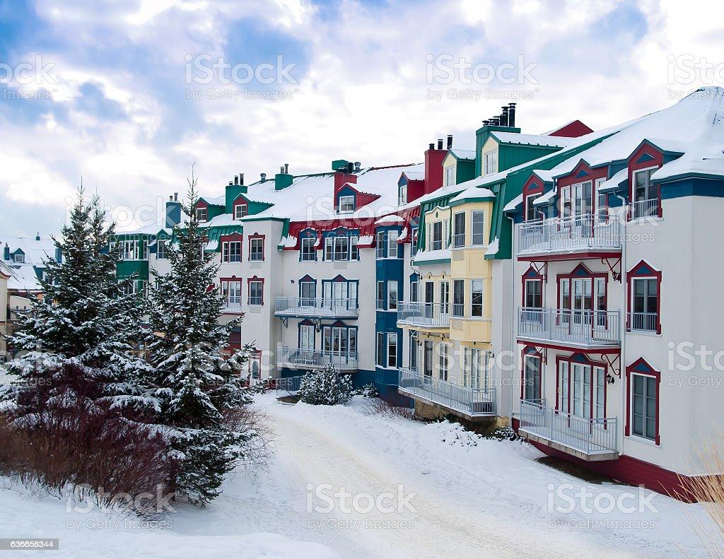 Beautiful Mount-Tremblant village – Foto