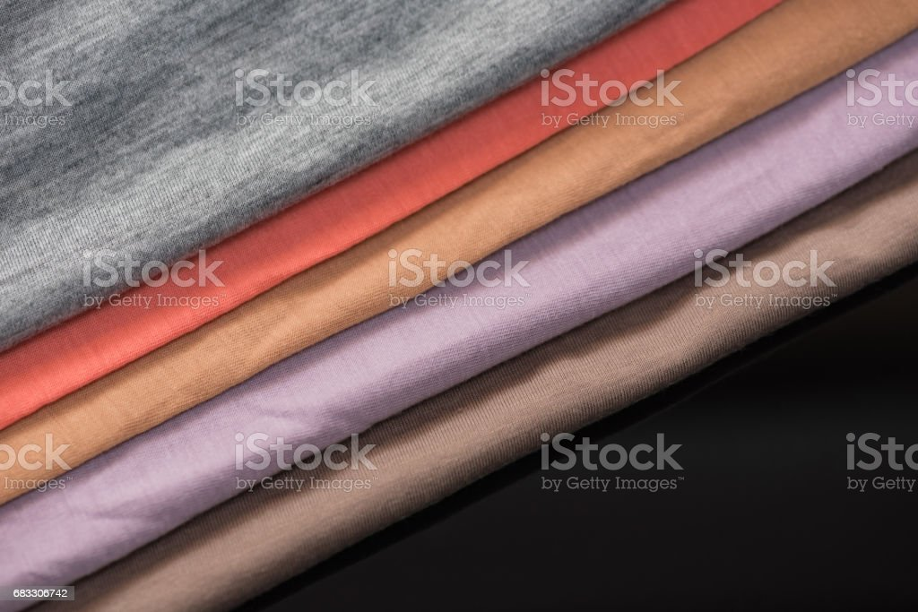 Beautiful multi color fabric royaltyfri bildbanksbilder