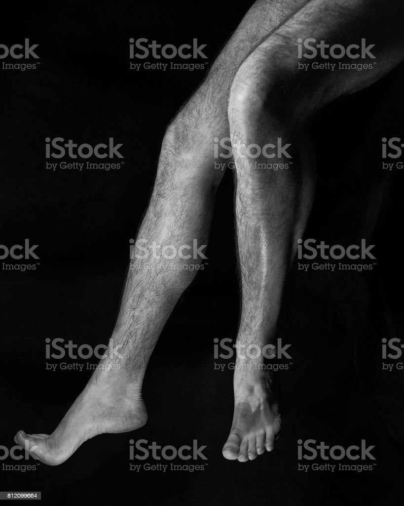 Beautiful Muscular Bare Male Feet Stock Photo More Pictures Of 20