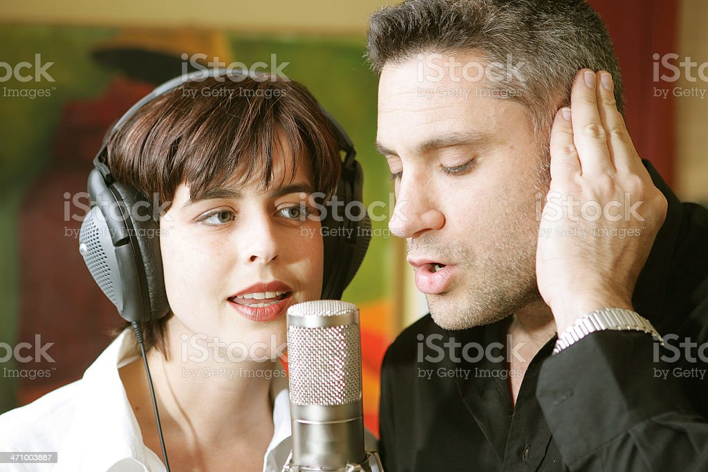 Beautiful Music Together stock photo