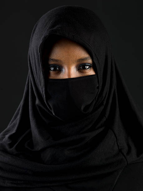 beautiful muslim teenage girl - arabic girl stock photos and pictures