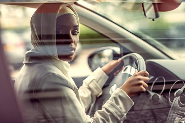 Beautiful Muslim Woman wearing hijab stock photo