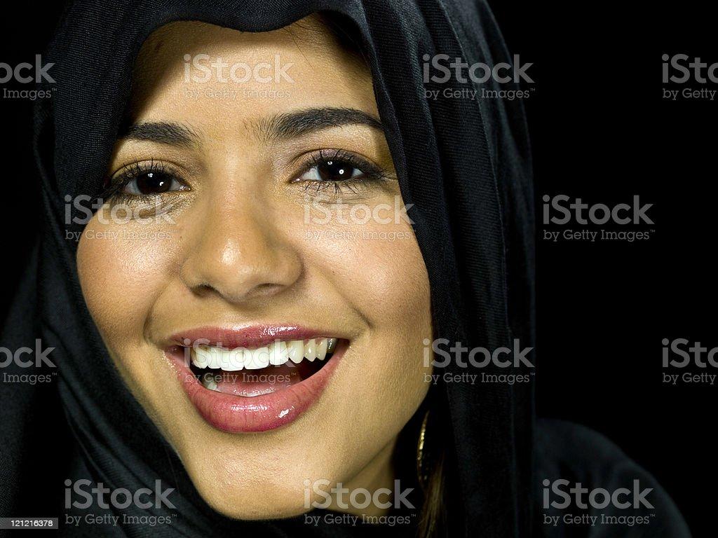 Beautiful Muslim young woman royalty-free stock photo