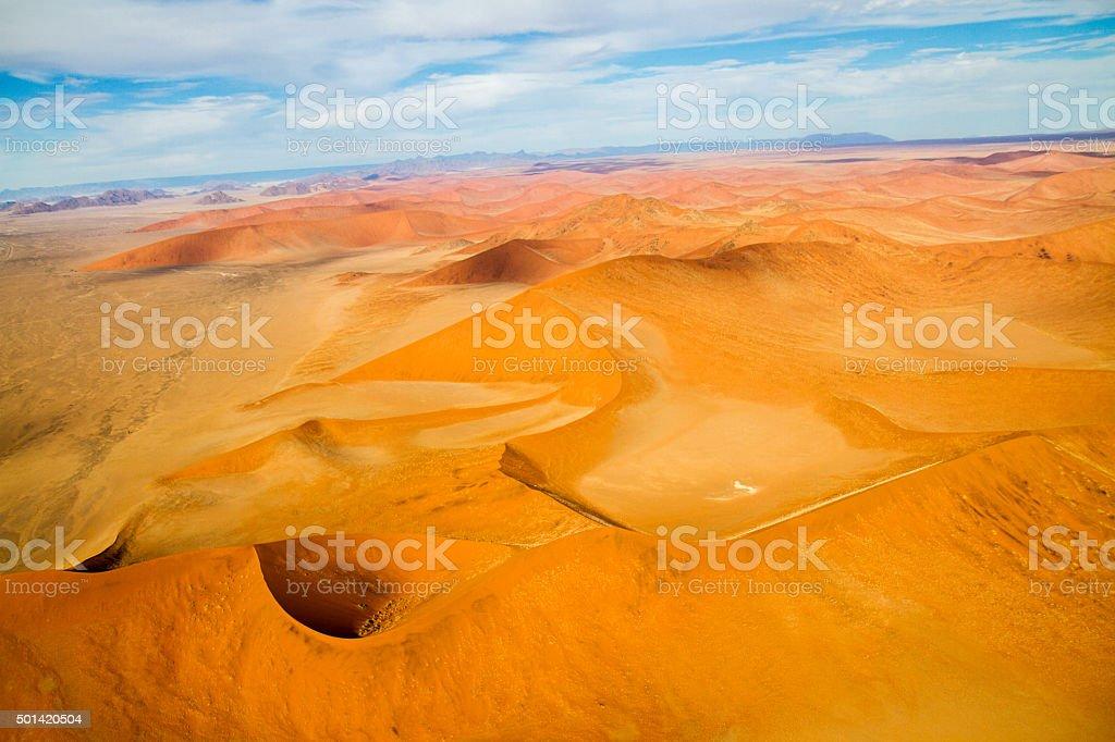 Beautiful Namibian Desert stock photo