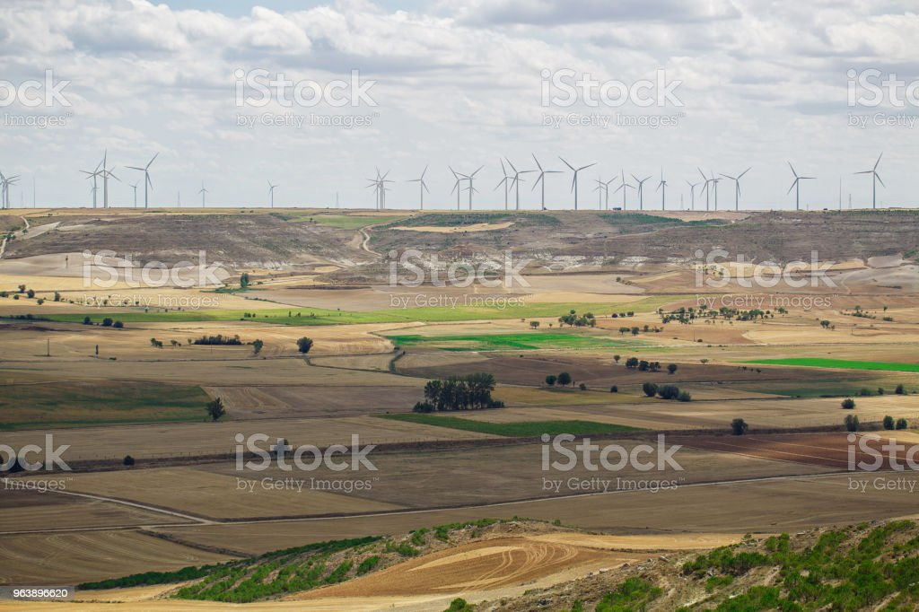 Beautiful natural landscape - Royalty-free Agricultural Field Stock Photo