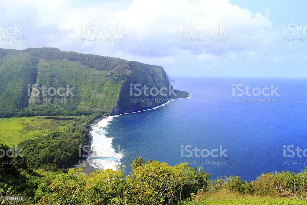 Beautiful Natural Scenery of Hawaii stock photo