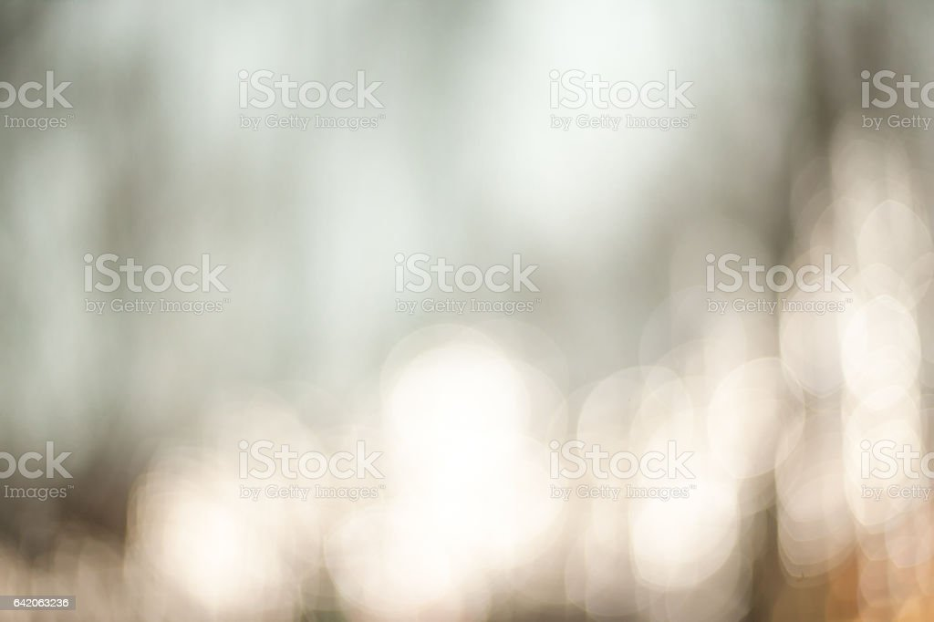 Beautiful Nature blurred light abstract background - Natural outdoors bokeh background with soft effect royalty-free stock photo