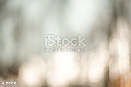 istock Beautiful Nature blurred light abstract background - Natural outdoors bokeh background with soft effect 642063236