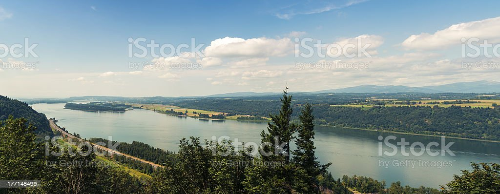 Beautiful Nature, Columbia Gorge royalty-free stock photo