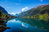 Beautiful Nature Norway natural landscape.