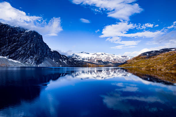 Schöne Natur Norwegen. – Foto