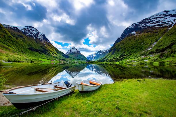 Wunderschöne Natur Norwegen. – Foto