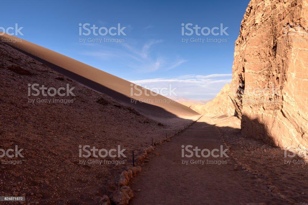 Beautiful nature of of the Atacama Desert, Chile. stock photo