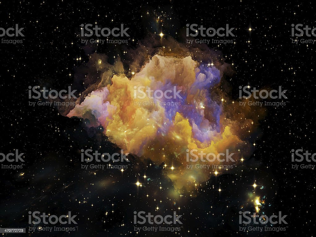 Beautiful Nebula royalty-free stock photo